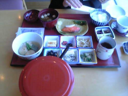 朝食で~~す!!